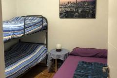 Habitación triple interior